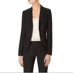 The Limited Black Label notch collar black blazer